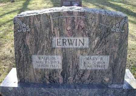 ERWIN, WADE HAMPTON - Lawrence County, Arkansas   WADE HAMPTON ERWIN - Arkansas Gravestone Photos