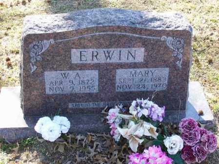 ERWIN, MARY - Lawrence County, Arkansas | MARY ERWIN - Arkansas Gravestone Photos