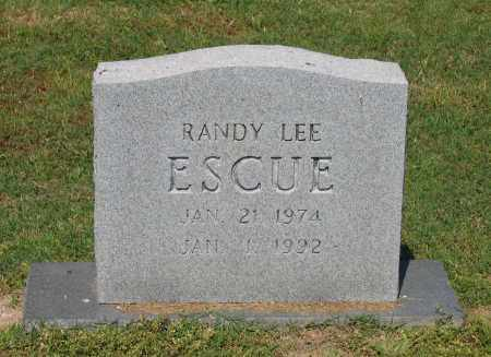 ESCUE, RANDY LEE - Lawrence County, Arkansas | RANDY LEE ESCUE - Arkansas Gravestone Photos