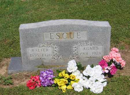 ESCUE, AGNES - Lawrence County, Arkansas | AGNES ESCUE - Arkansas Gravestone Photos