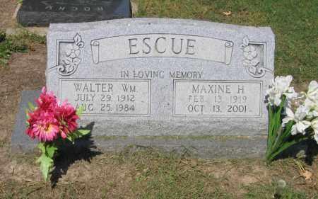 SCHOONOVER ESCUE, MAXINE HELEN - Lawrence County, Arkansas | MAXINE HELEN SCHOONOVER ESCUE - Arkansas Gravestone Photos