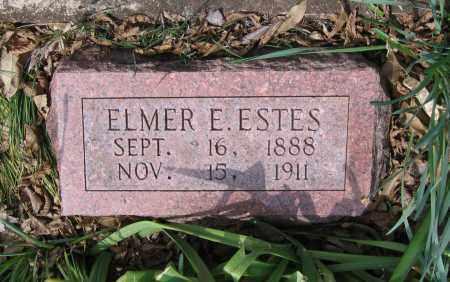 ESTES, ELMER E. - Lawrence County, Arkansas   ELMER E. ESTES - Arkansas Gravestone Photos