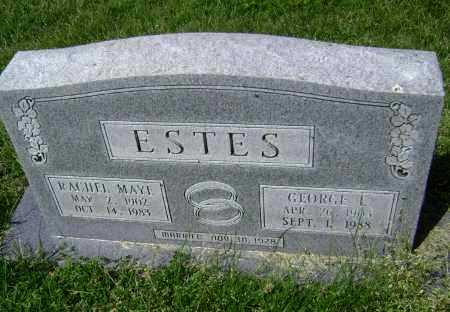 ESTES, GEORGE EDGAR - Lawrence County, Arkansas   GEORGE EDGAR ESTES - Arkansas Gravestone Photos