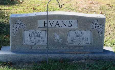 EVANS, BERTIE - Lawrence County, Arkansas | BERTIE EVANS - Arkansas Gravestone Photos