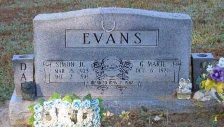 "EVANS, SIMON ""JC"" - Lawrence County, Arkansas | SIMON ""JC"" EVANS - Arkansas Gravestone Photos"