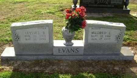 EVANS, MILDRED LUCILLE - Lawrence County, Arkansas | MILDRED LUCILLE EVANS - Arkansas Gravestone Photos