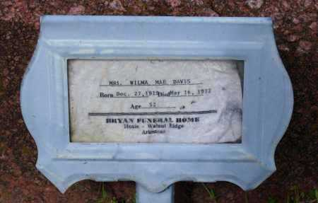 COMBS EVANS, WILMA MAE - Lawrence County, Arkansas | WILMA MAE COMBS EVANS - Arkansas Gravestone Photos