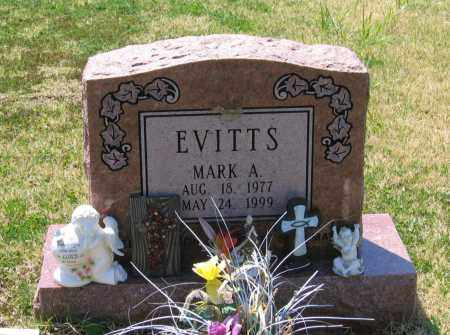 EVITTS, MARK ANTHONY - Lawrence County, Arkansas   MARK ANTHONY EVITTS - Arkansas Gravestone Photos