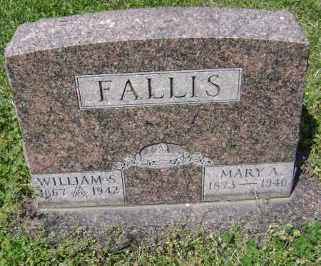 FALLIS, WILLIAM S. - Lawrence County, Arkansas | WILLIAM S. FALLIS - Arkansas Gravestone Photos