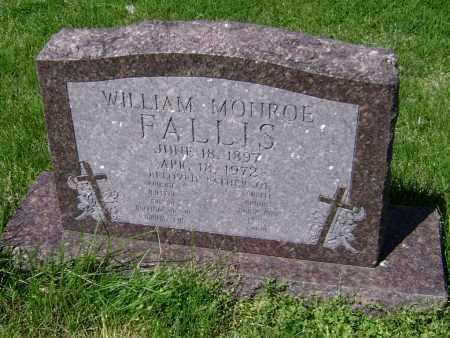FALLIS, WILIAM MONROE - Lawrence County, Arkansas | WILIAM MONROE FALLIS - Arkansas Gravestone Photos