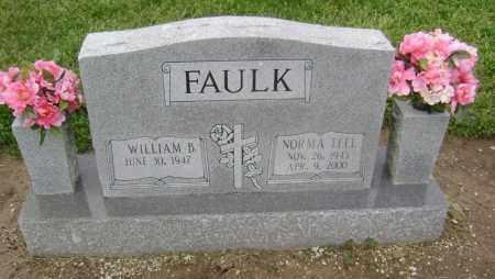 TEEL FAULK, NORMA - Lawrence County, Arkansas | NORMA TEEL FAULK - Arkansas Gravestone Photos