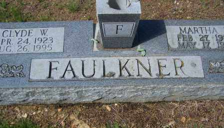 FAULKNER, CLYDE WILLIAM - Lawrence County, Arkansas | CLYDE WILLIAM FAULKNER - Arkansas Gravestone Photos