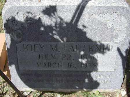"FAULKNER, JOE MAURICE ""JOEY"" - Lawrence County, Arkansas | JOE MAURICE ""JOEY"" FAULKNER - Arkansas Gravestone Photos"
