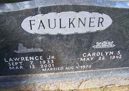 FAULKNER, JR., LAWRENCE - Lawrence County, Arkansas | LAWRENCE FAULKNER, JR. - Arkansas Gravestone Photos
