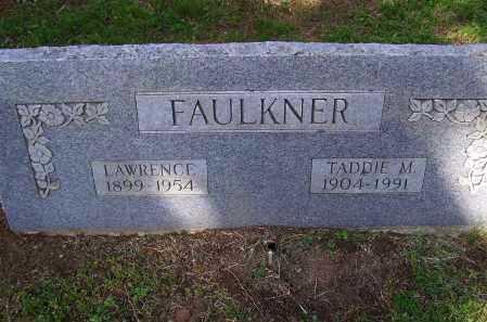 FAULKNER, TADDIE MAMIE - Lawrence County, Arkansas | TADDIE MAMIE FAULKNER - Arkansas Gravestone Photos