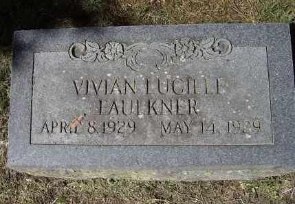 FAULKNER, VIVIAN LUCILLE - Lawrence County, Arkansas   VIVIAN LUCILLE FAULKNER - Arkansas Gravestone Photos