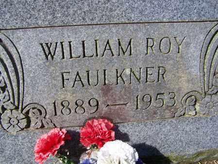 FAULKNER (VETERAN), WILLIAM ROY - Lawrence County, Arkansas | WILLIAM ROY FAULKNER (VETERAN) - Arkansas Gravestone Photos