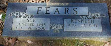 """NEELEY FEARS, MARY FRANCES """"SUE"""" - Lawrence County, Arkansas 
