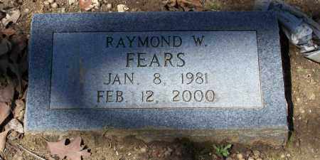 FEARS, RAYMOND W. - Lawrence County, Arkansas | RAYMOND W. FEARS - Arkansas Gravestone Photos