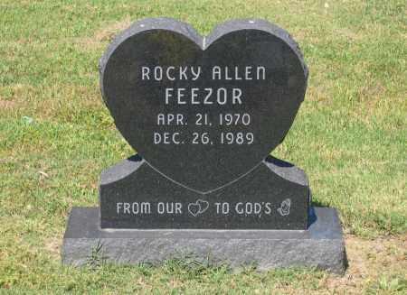 FEEZOR, ROCKY ALLEN - Lawrence County, Arkansas | ROCKY ALLEN FEEZOR - Arkansas Gravestone Photos