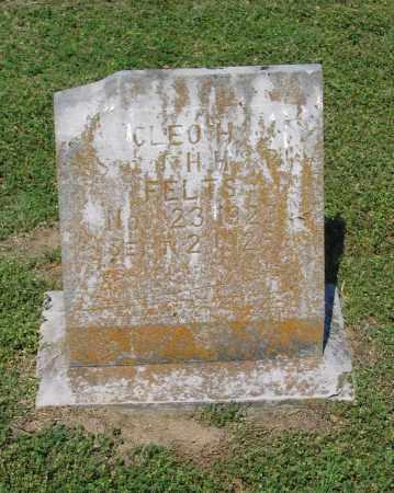 FELTS, CLEO H. - Lawrence County, Arkansas   CLEO H. FELTS - Arkansas Gravestone Photos