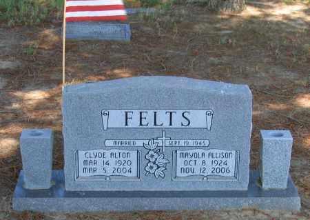 FELTS, CLYDE ALTON - Lawrence County, Arkansas | CLYDE ALTON FELTS - Arkansas Gravestone Photos