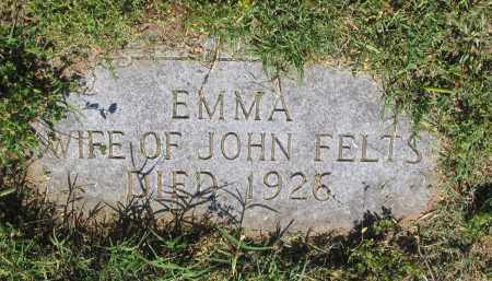 FELTS, EMMA - Lawrence County, Arkansas | EMMA FELTS - Arkansas Gravestone Photos