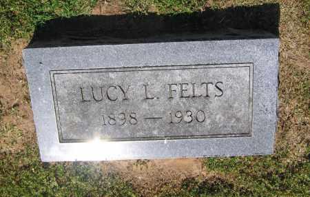 FELTS, LUCY L. - Lawrence County, Arkansas | LUCY L. FELTS - Arkansas Gravestone Photos