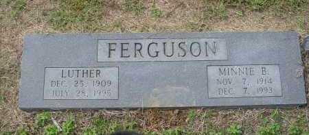 FREDRICKSON FERGUSON, MINNIE BELLE - Lawrence County, Arkansas | MINNIE BELLE FREDRICKSON FERGUSON - Arkansas Gravestone Photos
