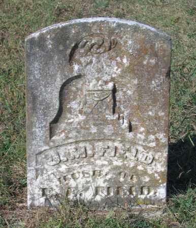 FIELD, JEFFERSON M. - Lawrence County, Arkansas | JEFFERSON M. FIELD - Arkansas Gravestone Photos