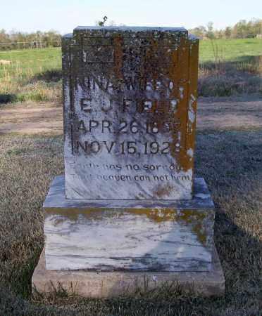 FIELD, NINA - Lawrence County, Arkansas   NINA FIELD - Arkansas Gravestone Photos