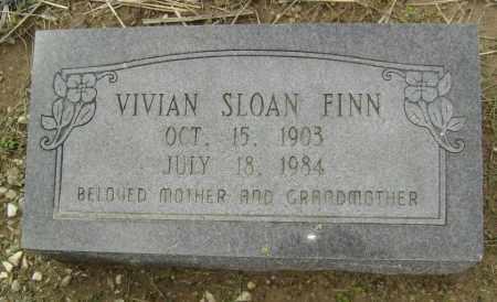 FINN, VIVIAN INEZ SLOAN BOUGHNOU - Lawrence County, Arkansas | VIVIAN INEZ SLOAN BOUGHNOU FINN - Arkansas Gravestone Photos