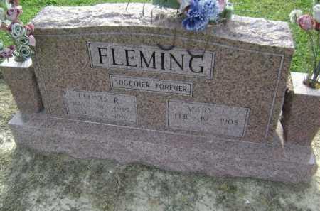 FLEMING, FLOYD R. - Lawrence County, Arkansas | FLOYD R. FLEMING - Arkansas Gravestone Photos