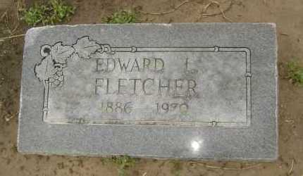FLETCHER, EDWARD L. - Lawrence County, Arkansas | EDWARD L. FLETCHER - Arkansas Gravestone Photos