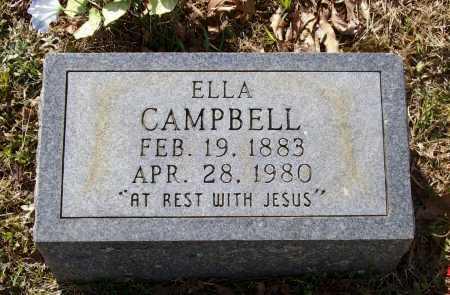 "CAMPBELL, MARY LUELLA NUNNALLY ""ELLA"" - Lawrence County, Arkansas | MARY LUELLA NUNNALLY ""ELLA"" CAMPBELL - Arkansas Gravestone Photos"