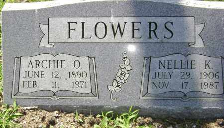 FLOWERS, NELLIE K. - Lawrence County, Arkansas | NELLIE K. FLOWERS - Arkansas Gravestone Photos