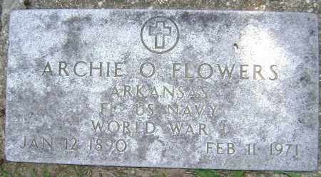 FLOWERS (VETERAN WWI), ARCHIE O - Lawrence County, Arkansas | ARCHIE O FLOWERS (VETERAN WWI) - Arkansas Gravestone Photos