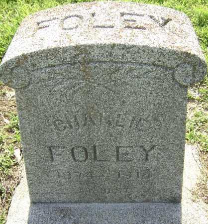 FOLEY, CHARLIE - Lawrence County, Arkansas | CHARLIE FOLEY - Arkansas Gravestone Photos