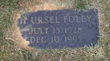 FOLEY, HARRISON URSEL - Lawrence County, Arkansas | HARRISON URSEL FOLEY - Arkansas Gravestone Photos