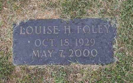 HOWARD FOLEY, LOUISE - Lawrence County, Arkansas | LOUISE HOWARD FOLEY - Arkansas Gravestone Photos