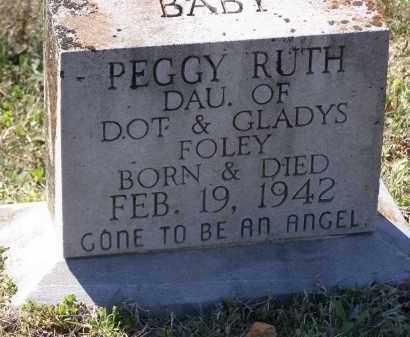 FOLEY, PEGGY RUTH - Lawrence County, Arkansas | PEGGY RUTH FOLEY - Arkansas Gravestone Photos