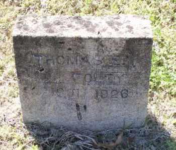 FOLEY, THOMAS E. - Lawrence County, Arkansas | THOMAS E. FOLEY - Arkansas Gravestone Photos