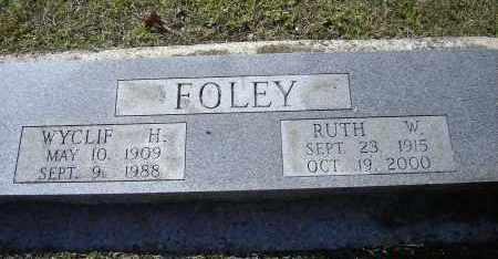 FOLEY, WYCLIF H. - Lawrence County, Arkansas | WYCLIF H. FOLEY - Arkansas Gravestone Photos