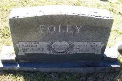 FOLEY, NAOMI - Lawrence County, Arkansas | NAOMI FOLEY - Arkansas Gravestone Photos