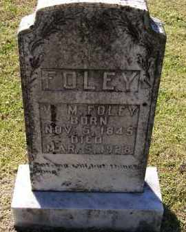 "FOLEY (VETERAN CSA), WILLIAM M. ""W. M."" - Lawrence County, Arkansas | WILLIAM M. ""W. M."" FOLEY (VETERAN CSA) - Arkansas Gravestone Photos"