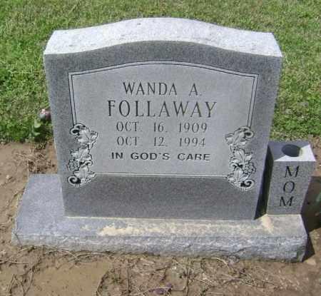 FOLLAWAY, WANDA A. - Lawrence County, Arkansas   WANDA A. FOLLAWAY - Arkansas Gravestone Photos