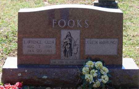 FOOKS, LAWRENCE GLEN - Lawrence County, Arkansas   LAWRENCE GLEN FOOKS - Arkansas Gravestone Photos