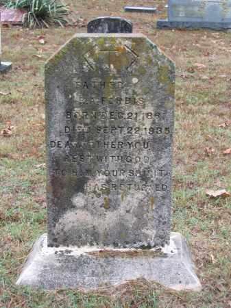 "FORBIS, ROBERT ALEXANDER ""R. A."" - Lawrence County, Arkansas | ROBERT ALEXANDER ""R. A."" FORBIS - Arkansas Gravestone Photos"