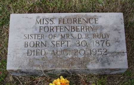 FORTENBERRY, MARY FLORENCE - Lawrence County, Arkansas   MARY FLORENCE FORTENBERRY - Arkansas Gravestone Photos