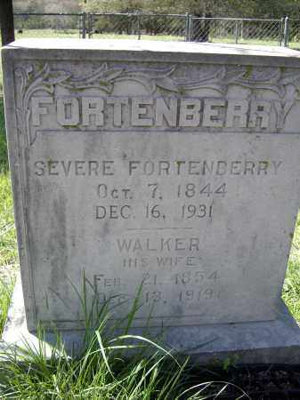 BARNETT FORTENBERRY, NANCY WALKER - Lawrence County, Arkansas | NANCY WALKER BARNETT FORTENBERRY - Arkansas Gravestone Photos